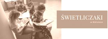 dzieci ze Świetlicy Środowiskowej w bibliotece